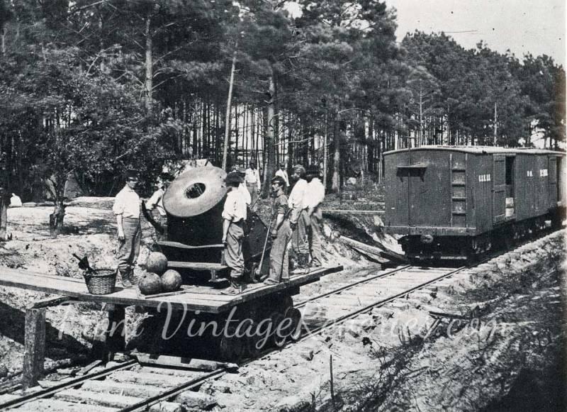 civil war railroad canon