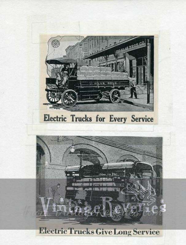 Detroit Electric truck ad