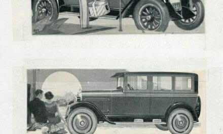 Maxwell, Nash, and Overland car ads