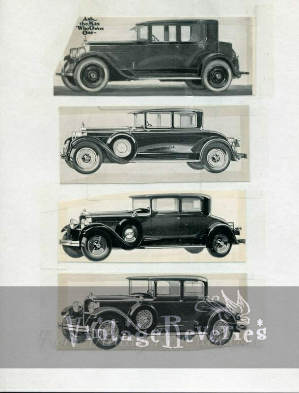 illustrated packard ad