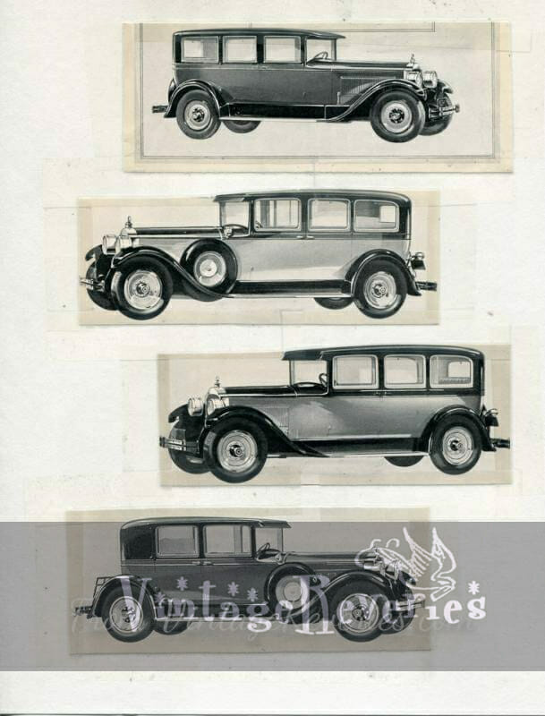 early 1920s packard ad