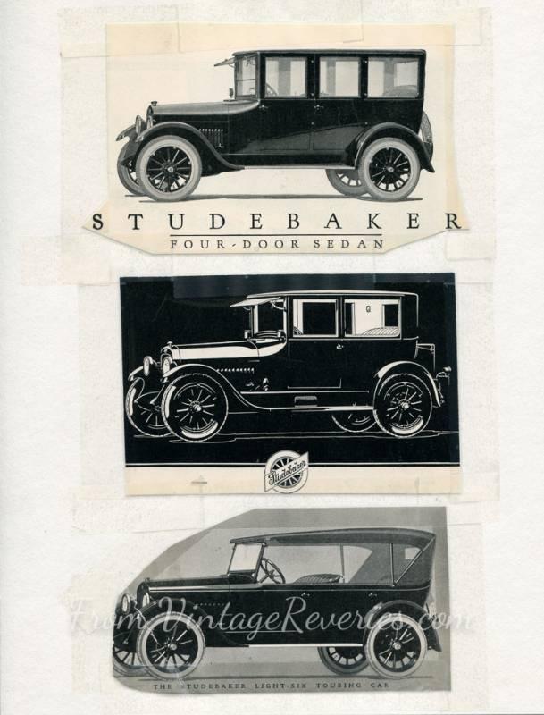 1920s studebaker car advertisement