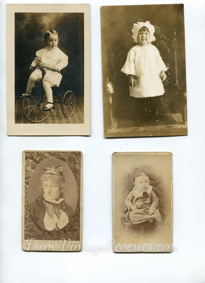 baby and children photos 1800s