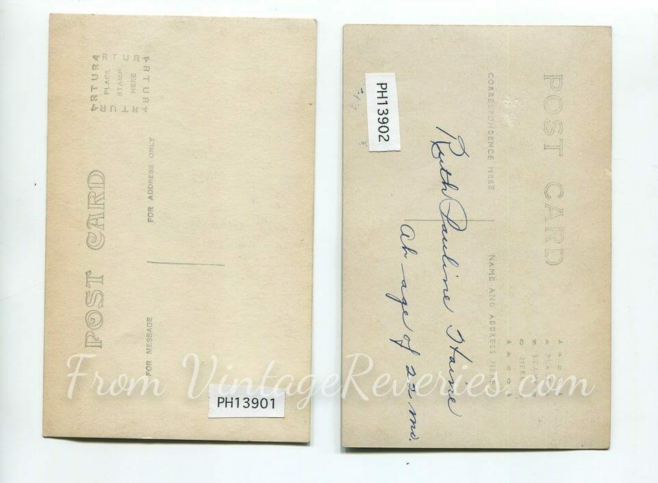 photo post card backs