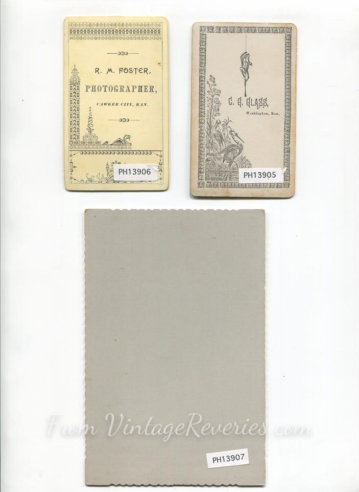 cabinet card back