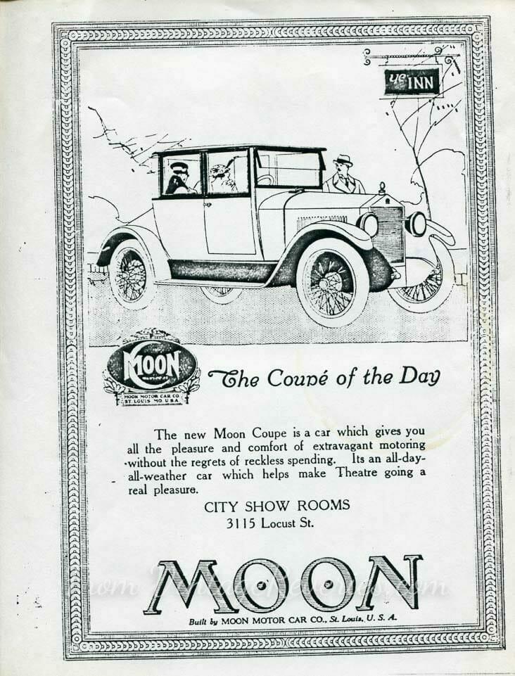 Moon Motors Ad