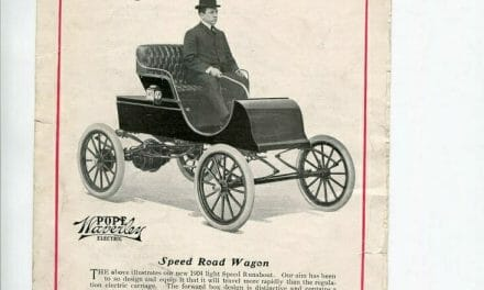 Pope-Waverly Speed Mobile Advertisement