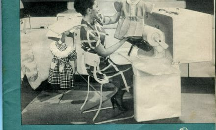 Cover and Envelope of IronRite Ironing Machine Manual