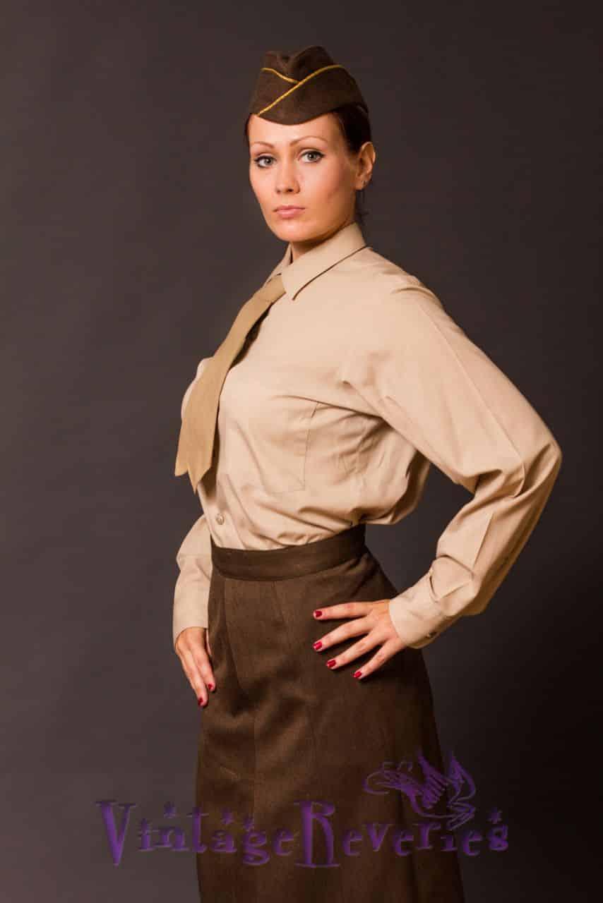 WAAC Uniform Photos