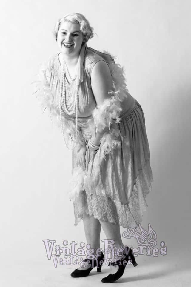 1920s plus size dress