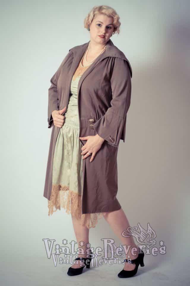 1920s cloak