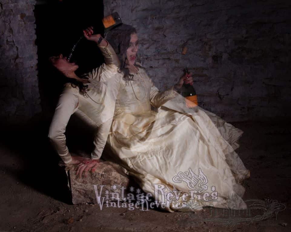 spooky dead bride