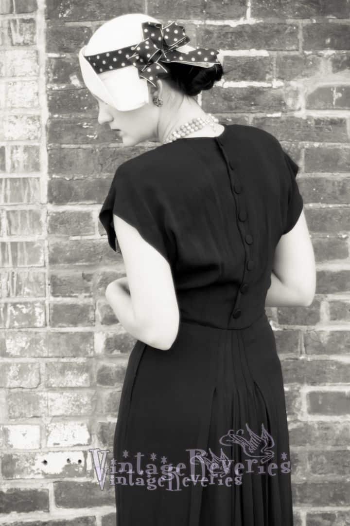 back of a dress