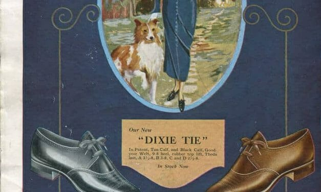 1920s Shoe Advertisements (last 2 pages of the 1924 St. Louis Fashion Pageant)