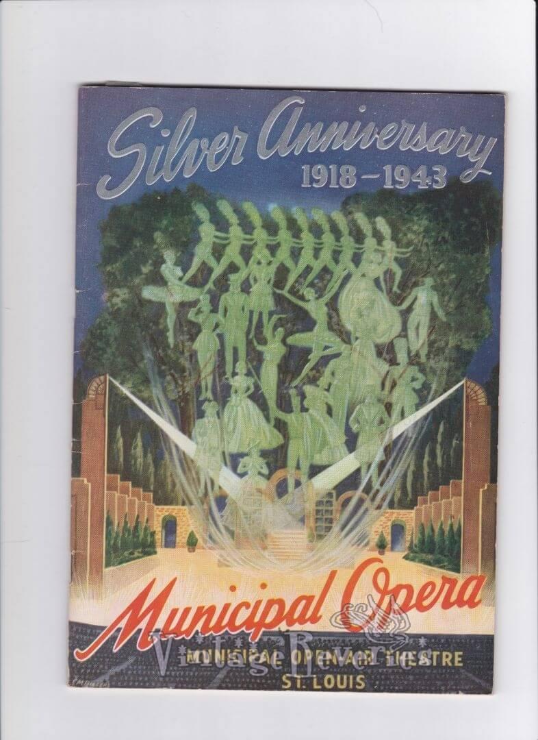Silver Anniversary of the St. Louis Municipal Opera – 1943 Season Program