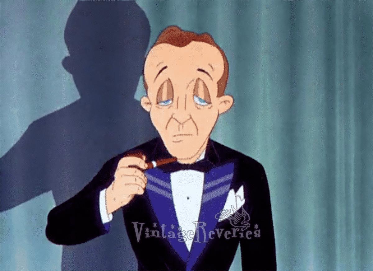Bing Crosby cartoon