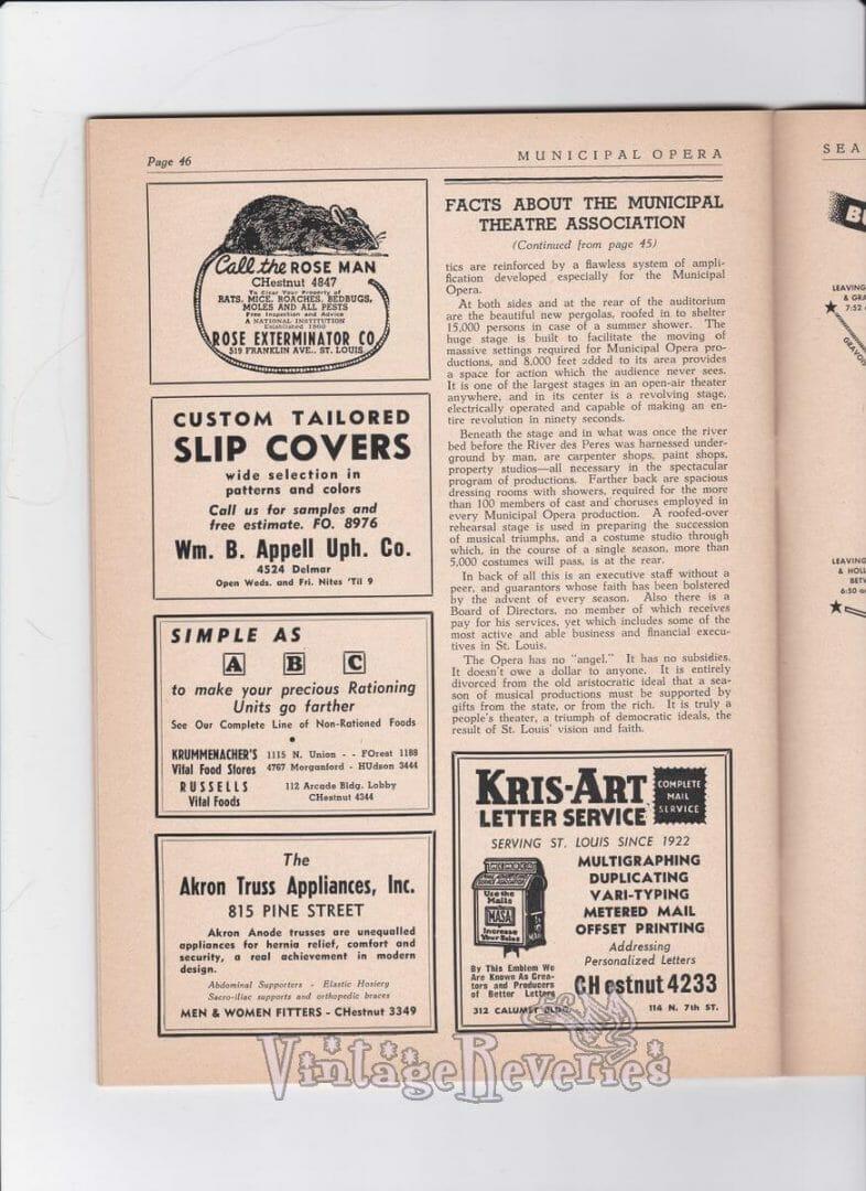 St. Louis Municipal Opera history