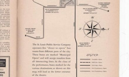 Bus Routes to the Muny and Guarantors of the 1943 Opera Season