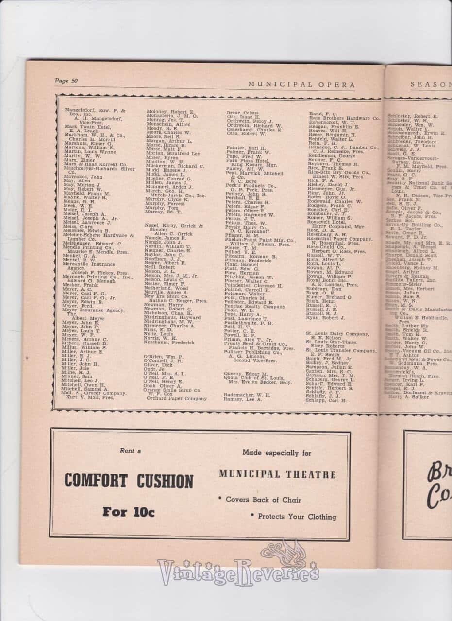 Wealthy St. Louis familys WWII