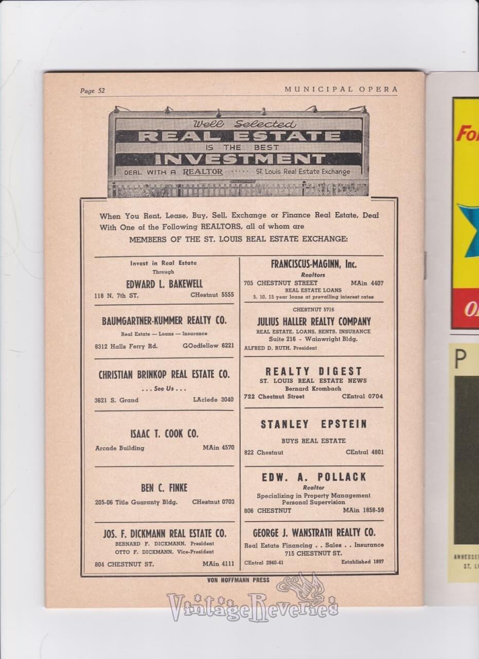 St. Louis Realtors in the 1940s