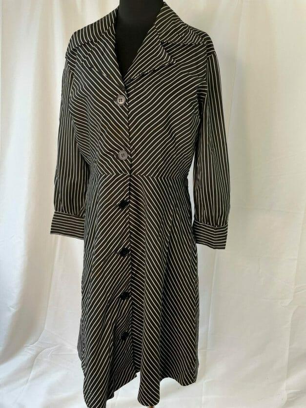 Vintage Pinstripe Dress