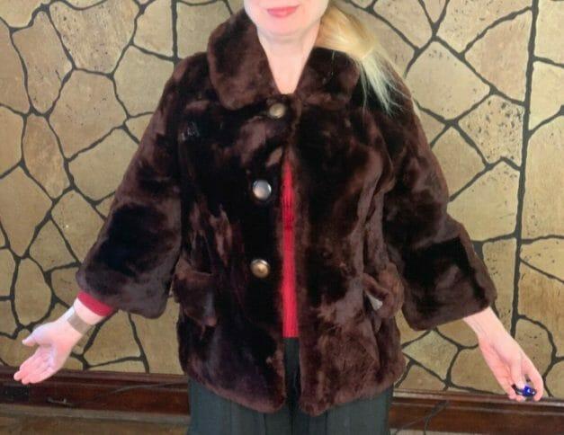 vintage fur coat for sale