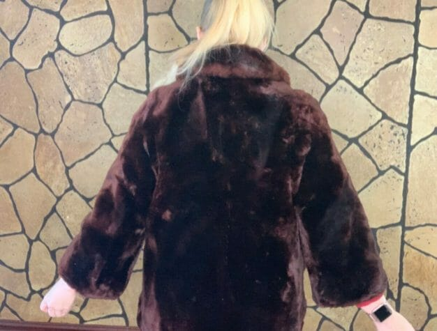 1950s fur coat