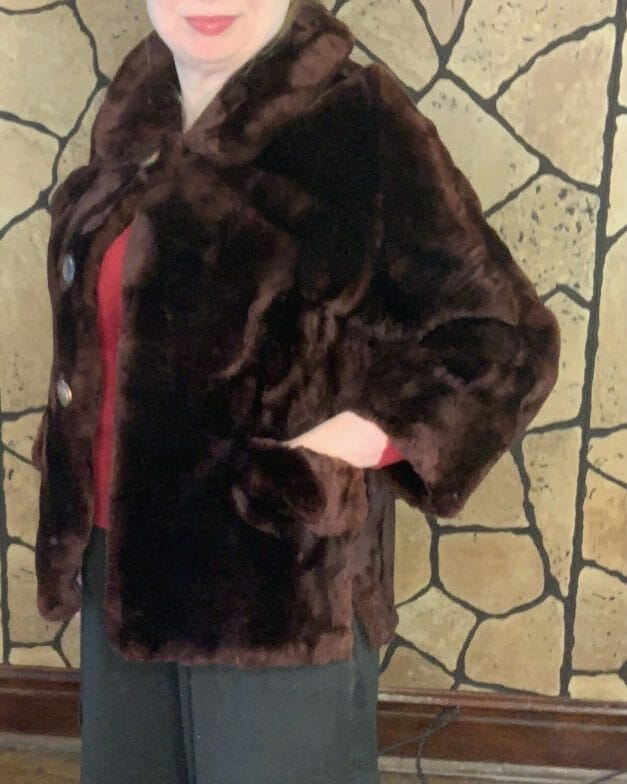 vintage 50s coat