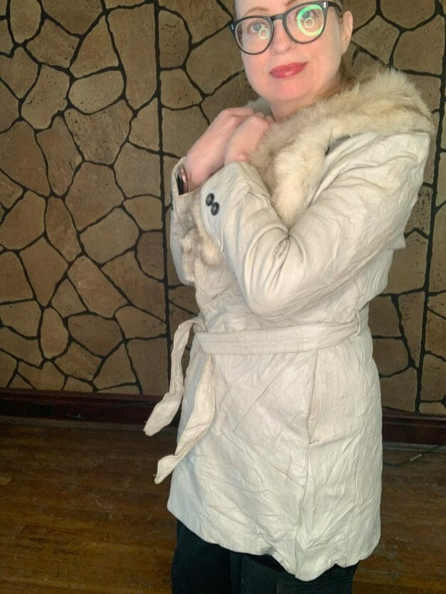 Vintage Lady Scully of California coat