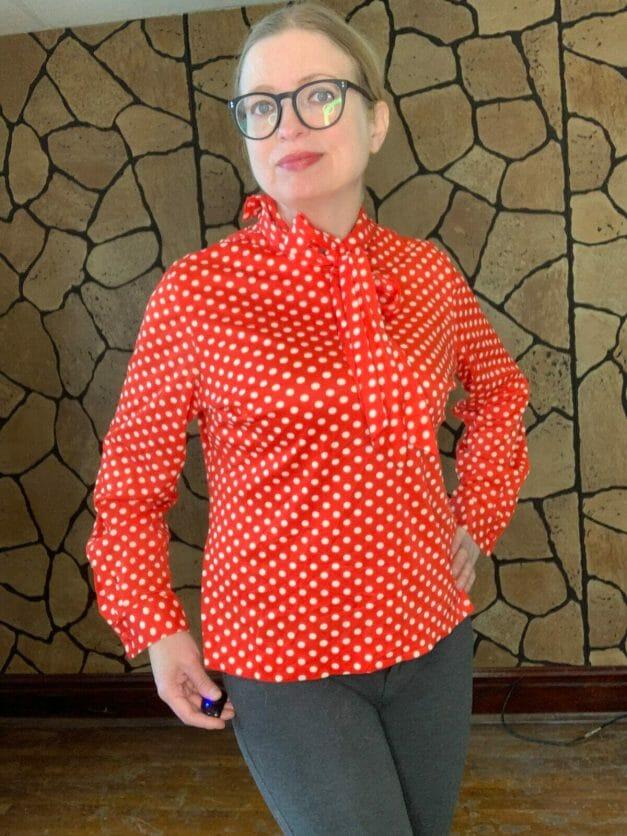 stoner square blouse
