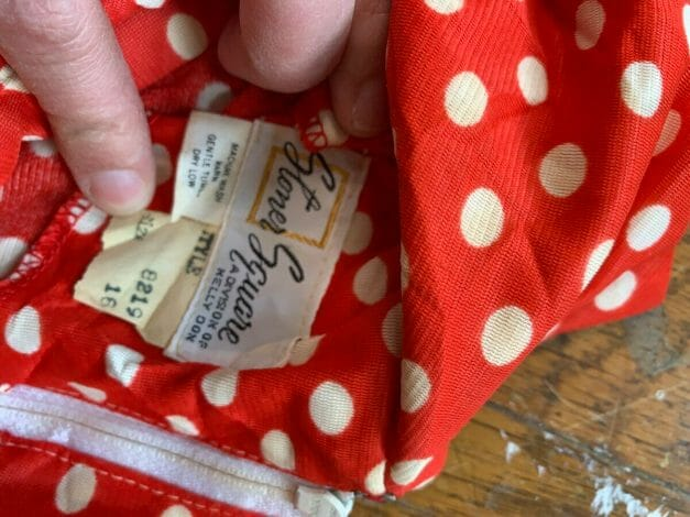 Stoner Square label 1970s blouse