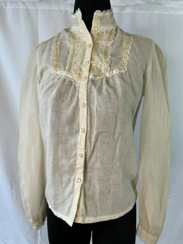 Vintage Jessica's Gunnies Gunne Sax buttonup shirt