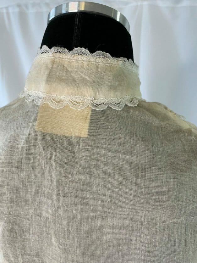 Vintage Gunne Sax shirt - Edwardian style