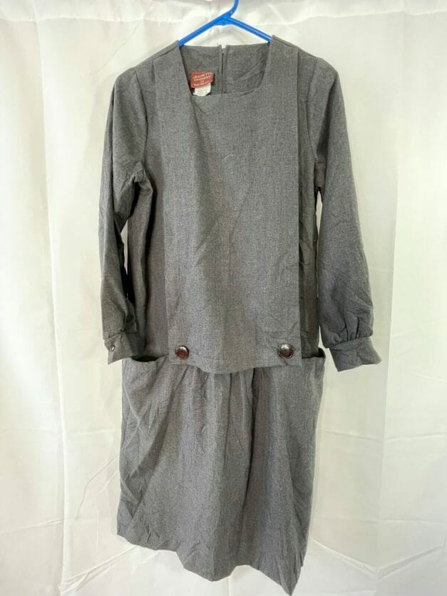 vintage maternity work dress