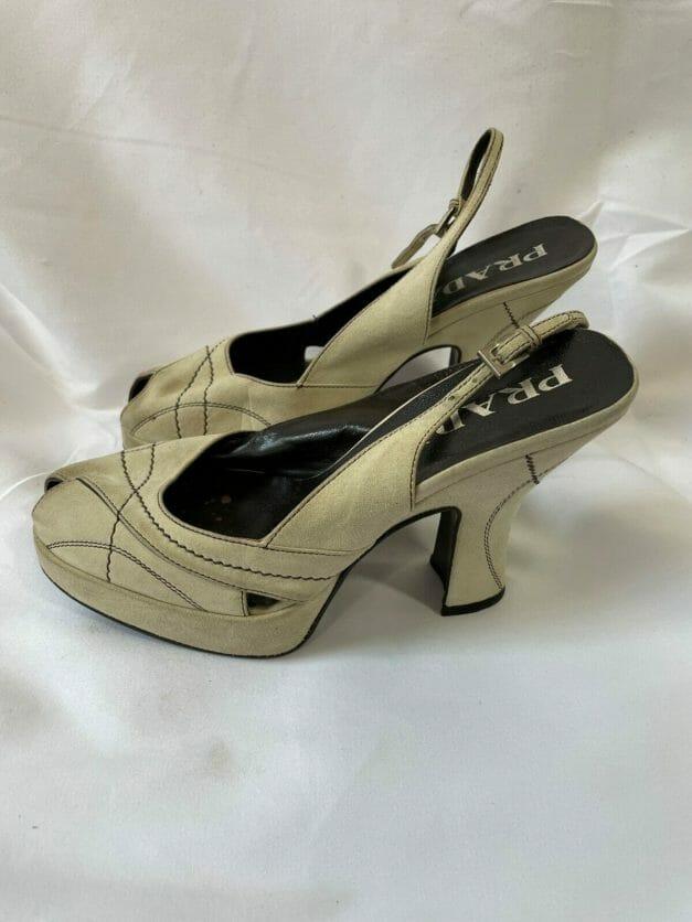 vintage Prada heels