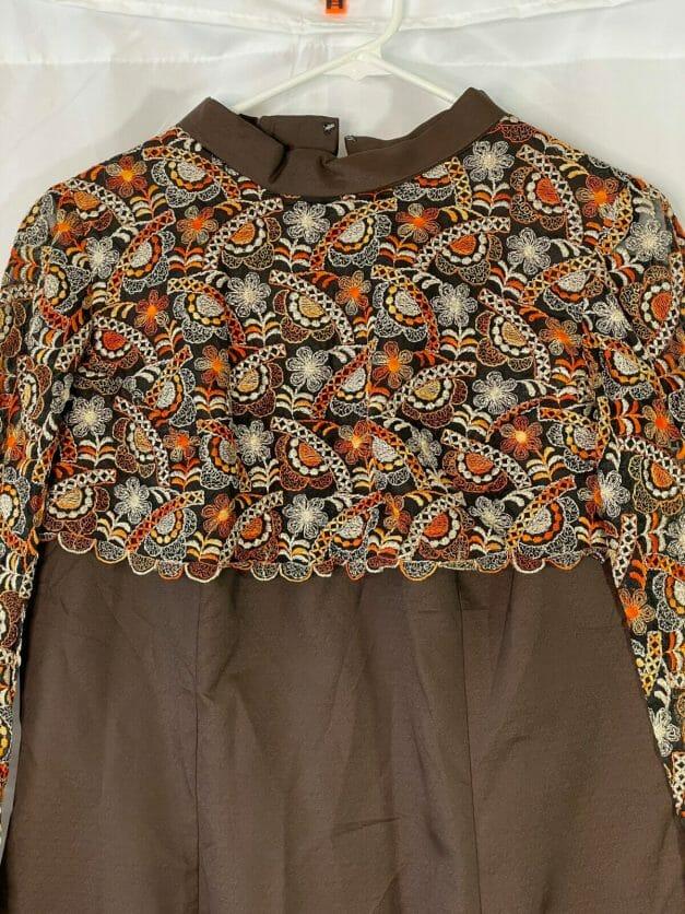 vintage 70s dress for sale - large size