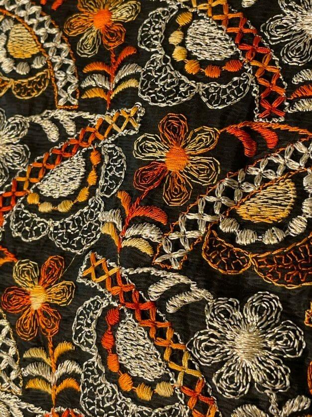 70s floral print