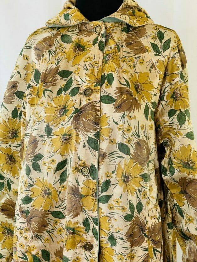 Vintage floral coat
