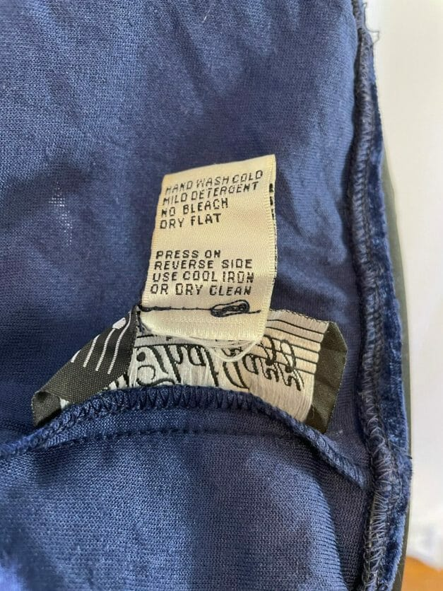 All that Jazz vintage dress label