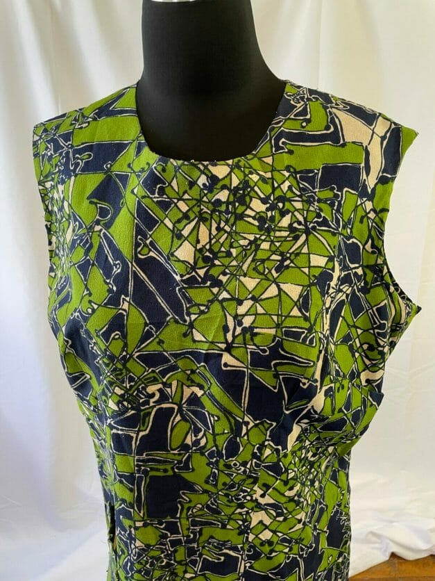 psychedelic 60s dress for sale