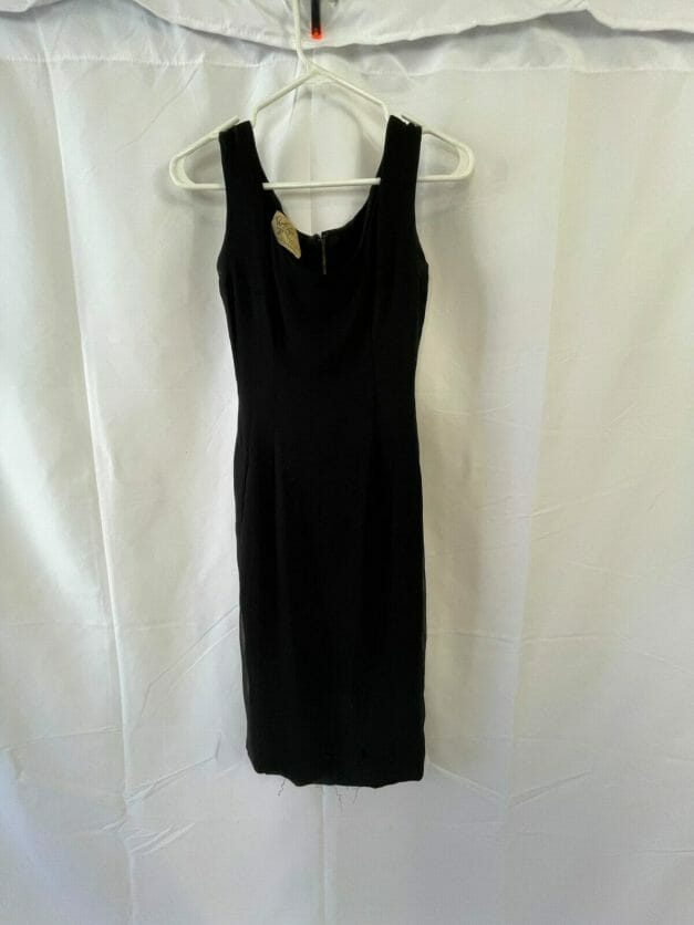 Little Black Dress - vintage 1950s Ruth Roaman NYC