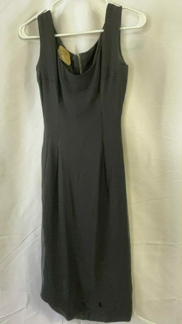 Little black dress - vintage 50s