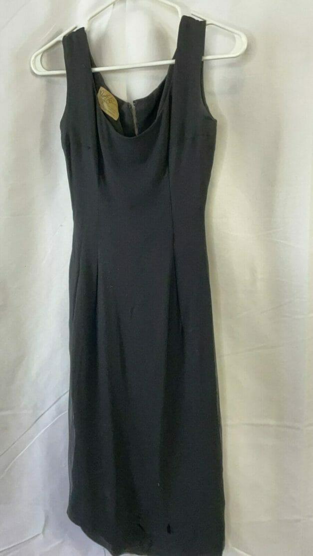 Little black dress - vintage 1950s
