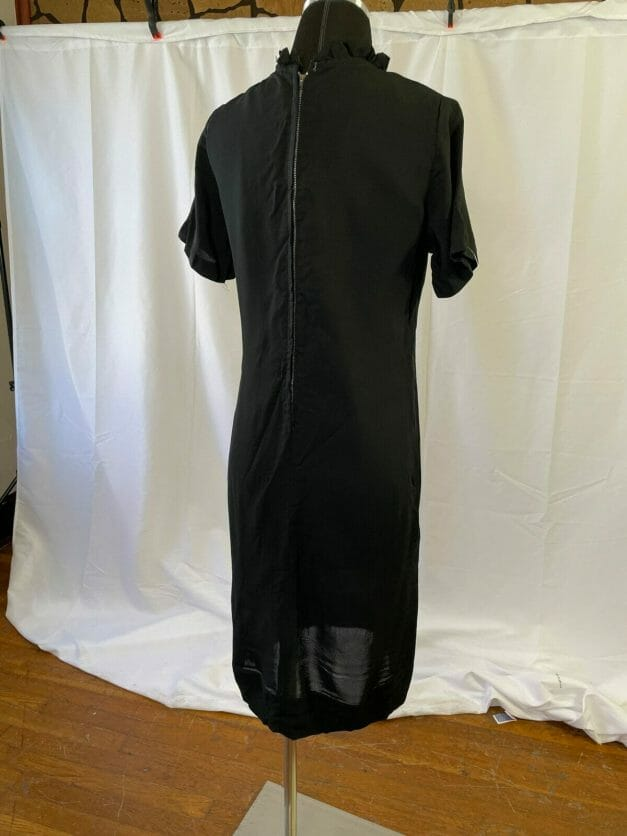 Madmen style black dress