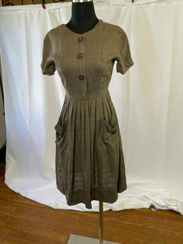 Cute classic XXS vintage early 60s dress for sale