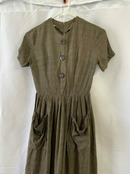 XS vintage 60s dress