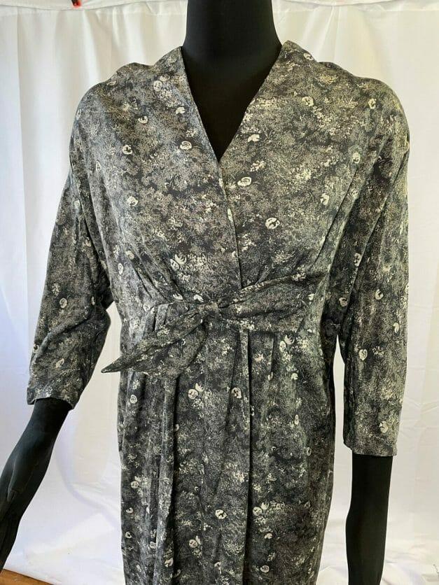 80s does the 40s Plus Size Vintage Dress