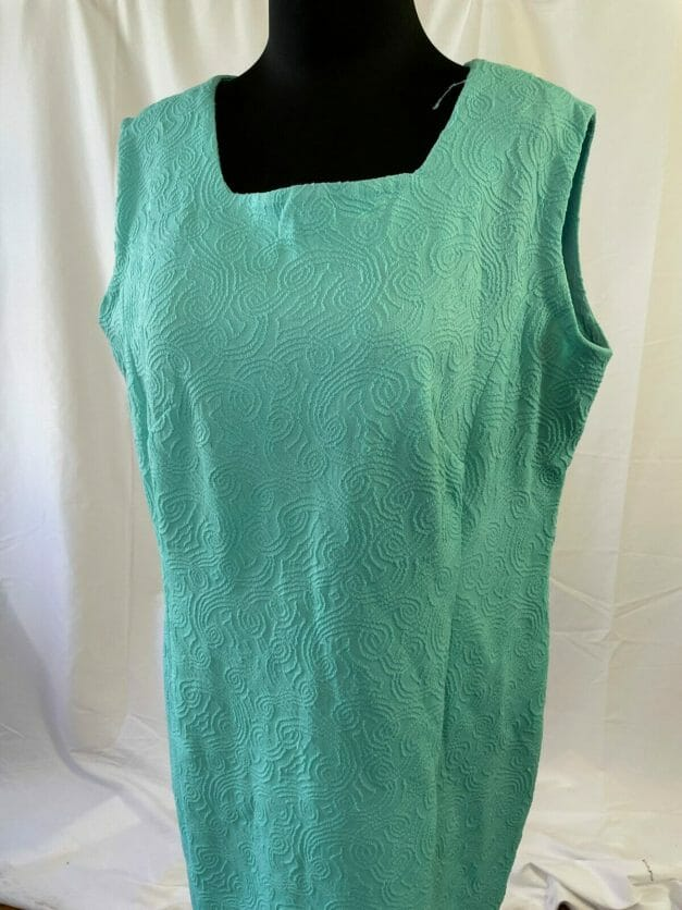 Vintage summer sheath dress