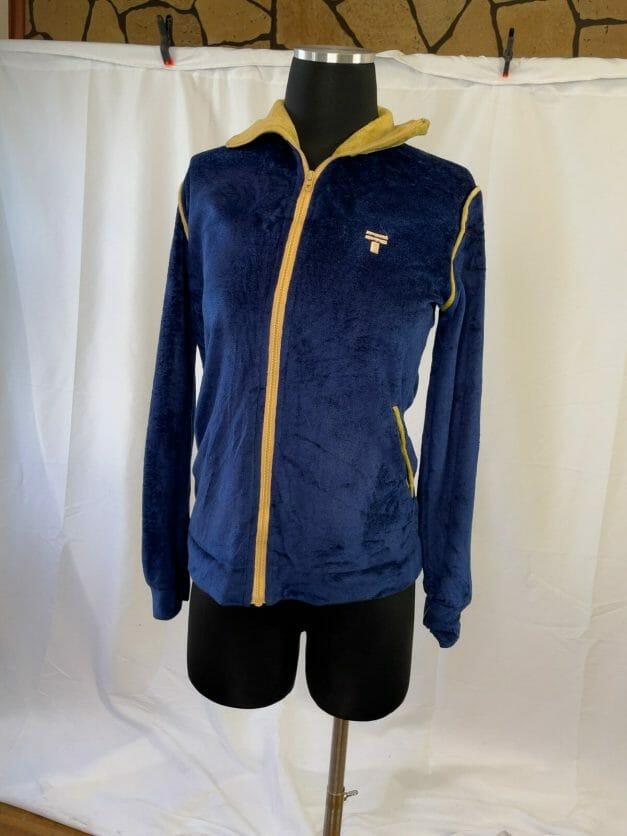 Tony Trabert tennis zip up track jacket sweatshirt