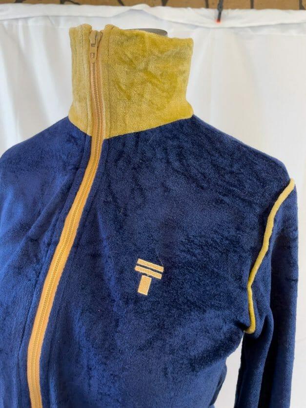 blue gym jacket